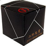 limCube Ghost Cube 2x2x2 - White Body with Black labels