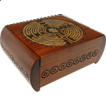 Carved Puzzle Box