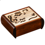 Music Notes Trick Box