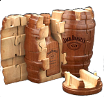 Jack Daniel's Barrel Puzzle
