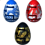 Group Special - A Set of 3 Smart Egg (2-Layer Labyrinth Puzzles)