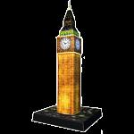 Ravensburger 3D Puzzle Night Edition - Big Ben