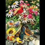 Garden Birds - Large Piece