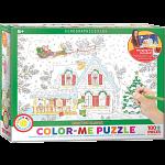 Color-Me Puzzle - Santa's Sleigh