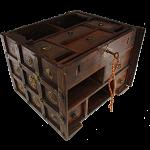 Wooden Cube Design Puzzle Box #2