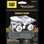 Metal Earth: CAT - Mining Truck