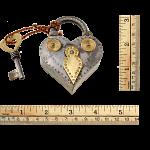 Heart Shape Iron Puzzle Lock