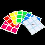 3x3x3 Super Full-Bright Sticker Set