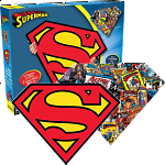 Superman - 2-sided Shaped Jigsaw Puzzle