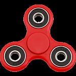 Hand Tri Spinner Anti-Stress Fidget Toy - Red
