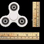 Hand Tri Spinner Anti-Stress Fidget Toy - White