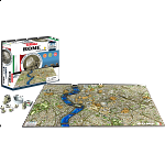 4D City Scape Time Puzzle - Rome
