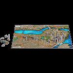 4D City Scape Time Puzzle - Boston