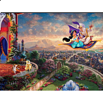 Thomas Kinkade: Disney - Aladdin - Large Piece