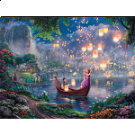 Thomas Kinkade: Disney - Tangled - Large Piece