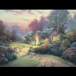 Thomas Kinkade: Inspirations - The Good Shepherd's Cottage
