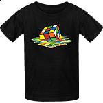 Melted Rubik's Cube - T-Shirt