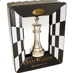 Silver Color Chess Piece - King