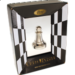 Silver Color Chess Piece - Pawn