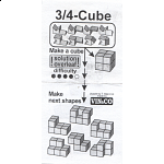 3/4 Cube (with box)