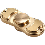 Metal Torqbar Spinner Anti-Stress Fidget Toy - Gold