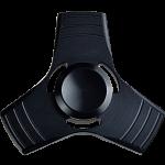 Metal Tri Blade Spinner Anti-Stress Fidget Toy - Black