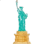 3D Crystal Puzzle Deluxe - Statue of Liberty