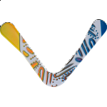 Hornet - polymer boomerang - Right Hand