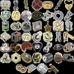 Levels 4-6: a set of 38 Hanayama Metal Puzzles