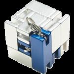 Mini Line Cube - Blue