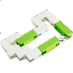 Mini Line Cube - Green