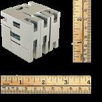 Line Cube - Silver