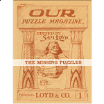 The Missing Puzzles - Volume 1 (Book)