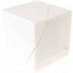 limCube Ghost Cube 2x2x2 DIY - White Body with Silver labels