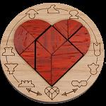 Minipuzzle - Broken Heart