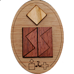 Minipuzzle - Schweizer Kreuz