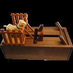 Karakuri Card Case - Goat