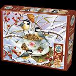 Chickadee Tea - Large Piece