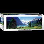 Lake Louise, Canadian Rockies: Panoramic Puzzle