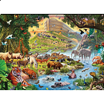 Noah's Ark, Before The Rain - Large Piece Family Puzzle