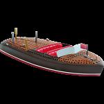 Cribbage Board - Classic Boat