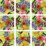 Scramble Squares - American Native Flowers