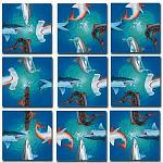 Scramble Squares - Sharks