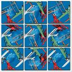 Scramble Squares - Vintage Airplanes