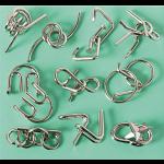 10 Metal Puzzle Set - Green