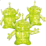 3D Crystal Puzzle - Toy Story 4: Aliens
