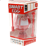 Smart Egg Labyrinth Puzzle - Easter Red