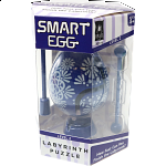 Smart Egg Labyrinth Puzzle - Easter Blue