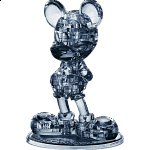 3D Crystal Puzzle - Mickey Mouse 2 (Black)