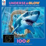 Undersea Glow: Great White Delight